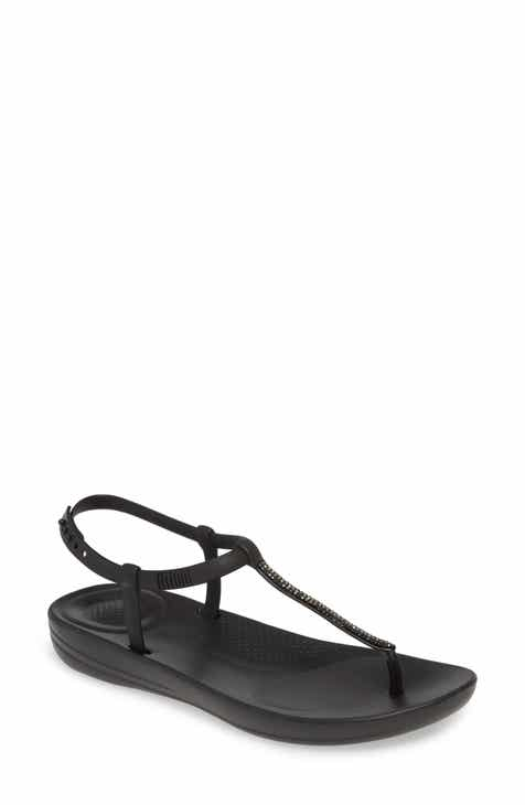 1c2fb9d0c48 FitFlop iQushion™ Crystal Embellished Thong Sandal (Women) (Nordstrom  Exclusive)