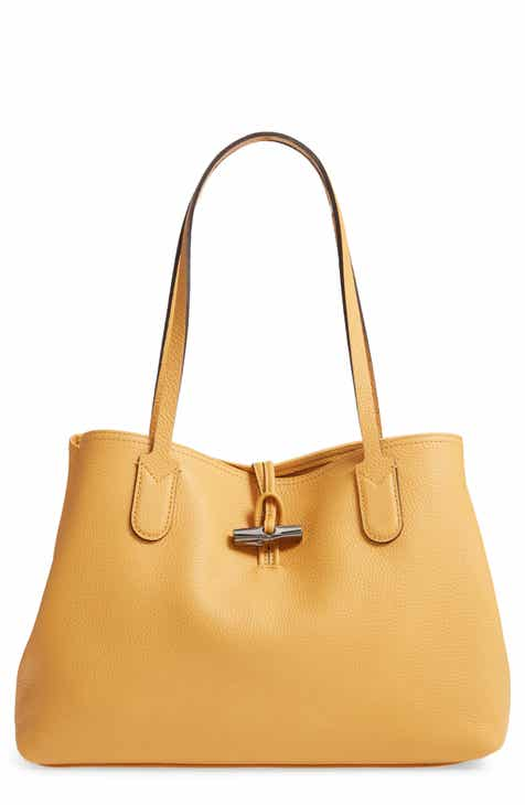 91c1d477e364 Longchamp Roseau Essential Mid Leather Tote