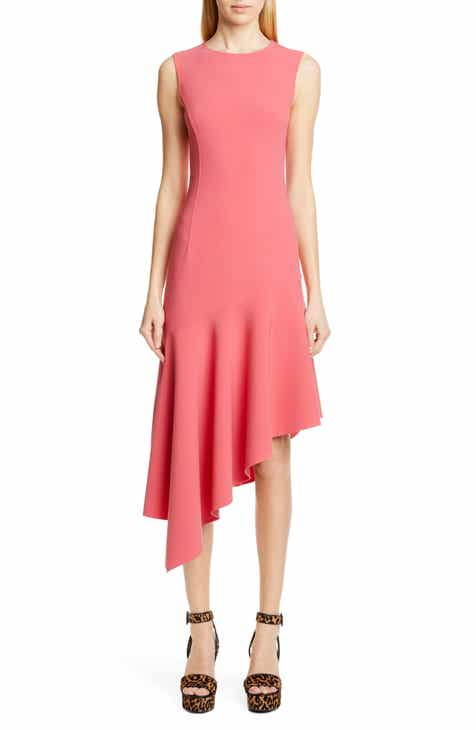 289422ef1b1 Michael Kors Asymmetrical Hem Crepe Dress