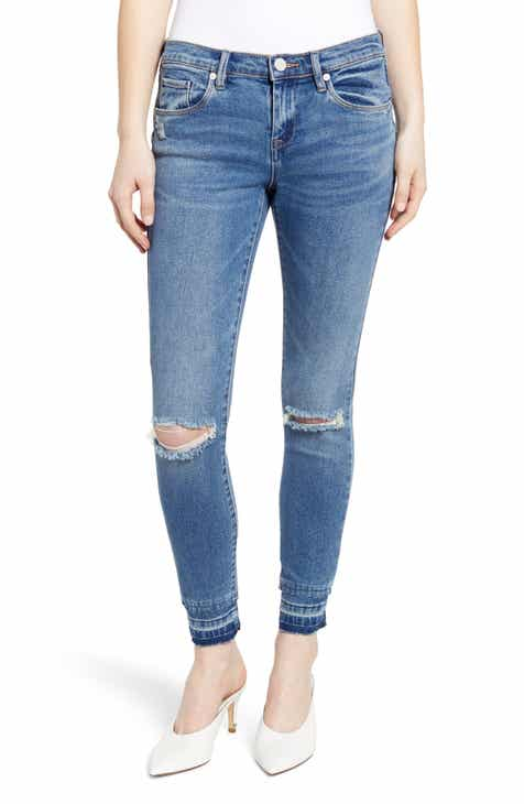 KUT from the Kloth Lauren Crop Straight Leg Jeans (Collect) by KUT FROM THE KLOTH