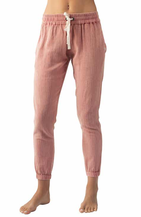 Tailored by Rebecca Taylor Pinstripe Linen Blend Trousers by TAILORED BY REBECCA TAYLOR