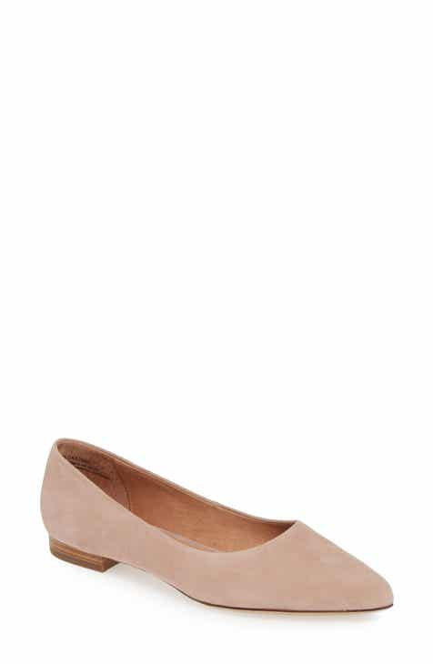 fb4c50638d9 Caslon® Luna Pointy Toe Flat (Women)