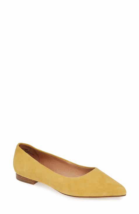 5ed615bb6fbd Caslon® Luna Pointy Toe Flat (Women)