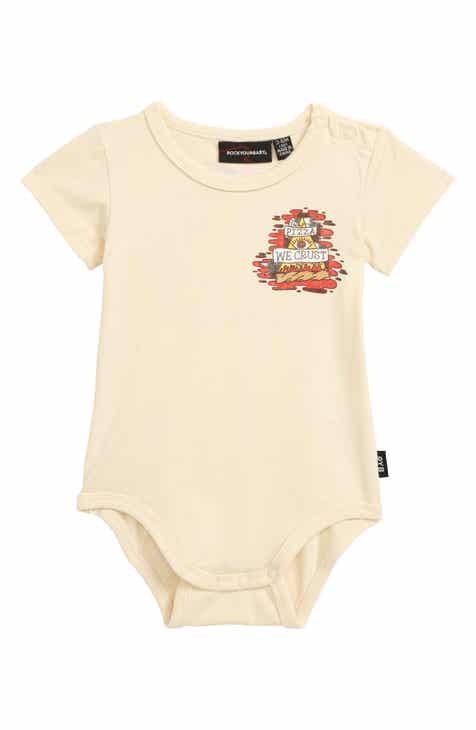 05602b41c25 Rock Your Baby In Pizza We Crust Bodysuit (Baby)