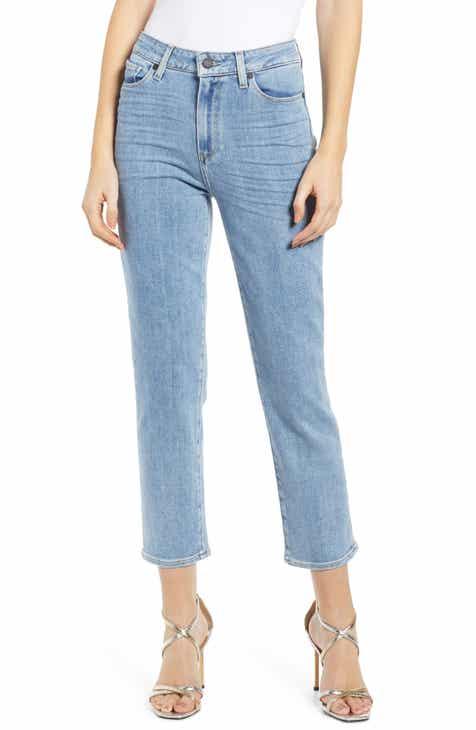974dca78eb4f PAIGE Vintage - Hoxton High Waist Ankle Straight Leg Jeans (Miami)