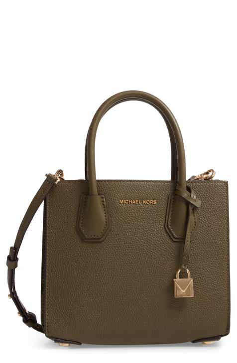 10cf259067875 MICHAEL Michael Kors Medium Mercer Convertible Leather Tote