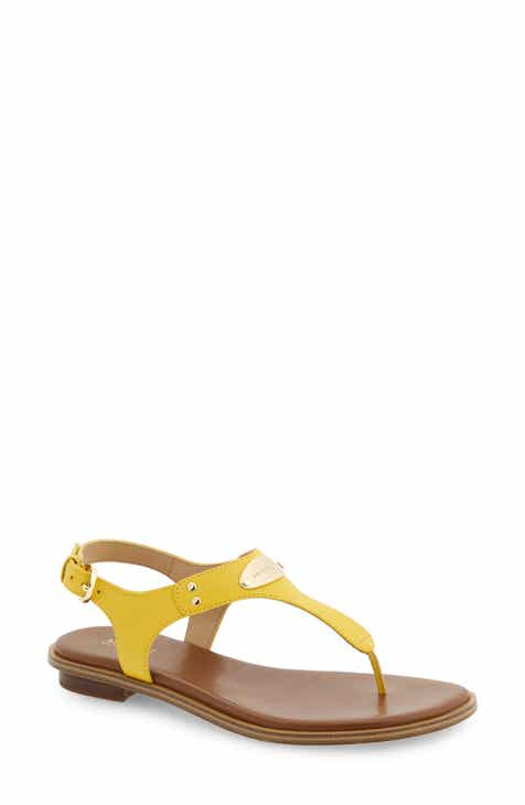 a6476b8afc59 Yellow Ankle Strap Sandals for Women