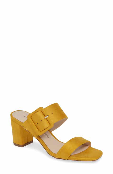 72356e5fb6d Chinese Laundry Yippy Block Heel Sandal (Women)