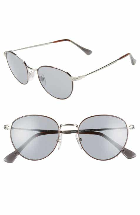 4087c310fbc01 Persol 52mm Round Sunglasses