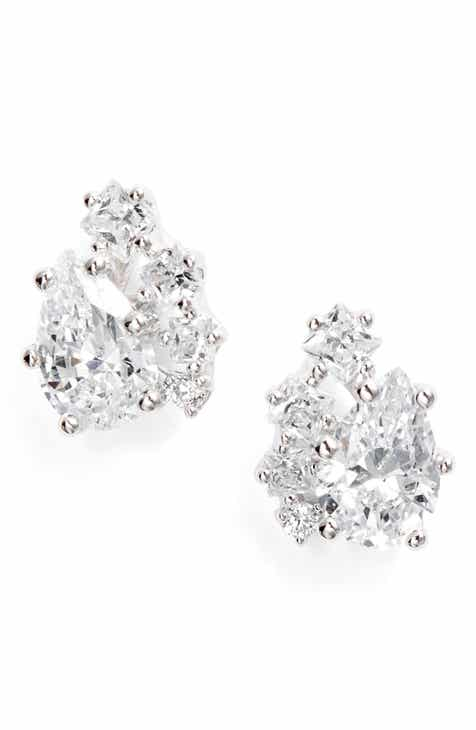 02a37a9052bbc5 Nadri Tulle Cluster Stud Earrings