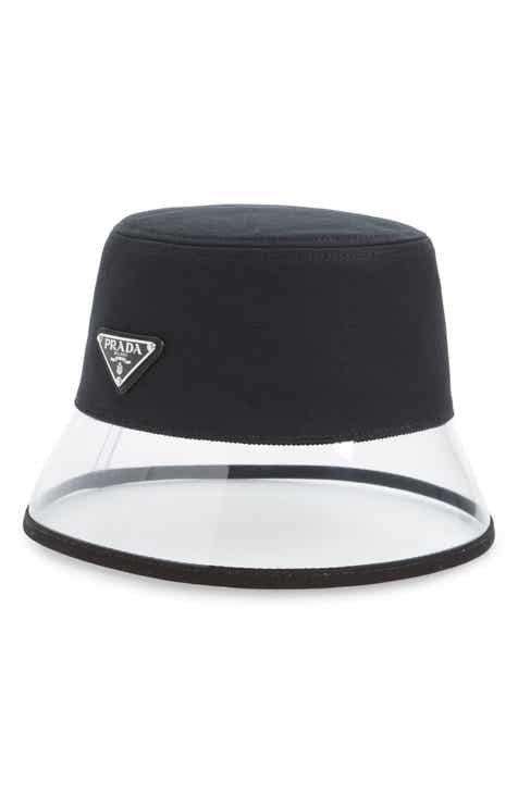 80048de6be4cb Prada Clear Brim Bucket Hat