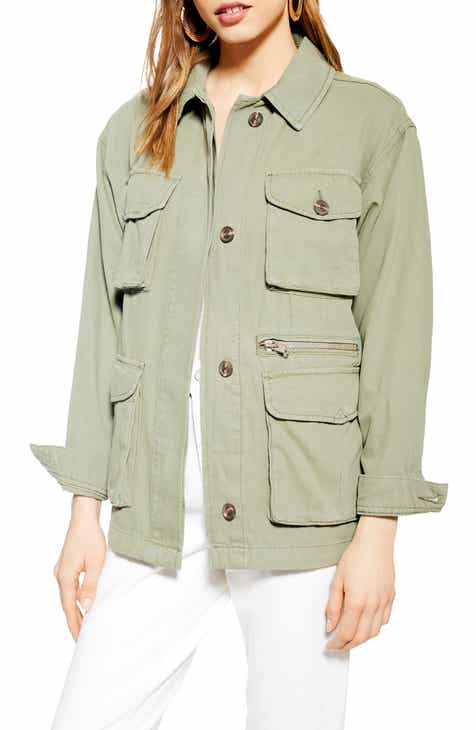 Topshop Scott Utility Jacket by TOPSHOP