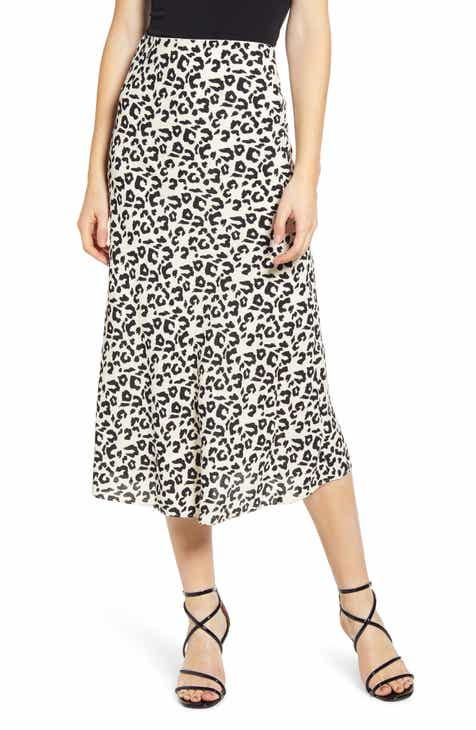 9f6cce8fcc4 Leith Bias Cut Midi Skirt