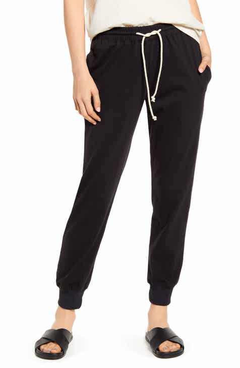 rag & bone Super High Waist Frayed Hem Chinos by RAG AND BONE
