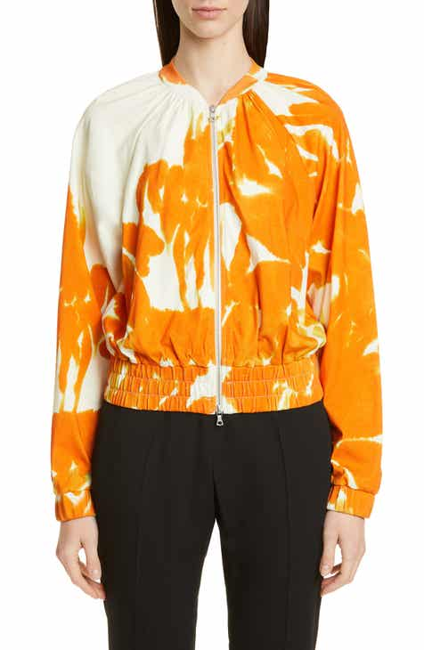 Dries Van Noten Hao Brush Print Bomber Jacket by DRIES VAN NOTEN