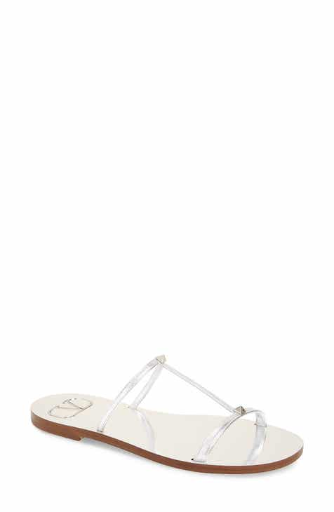 7a596666e VALENTINO GARAVANI Rockstud Slide Sandal (Women)