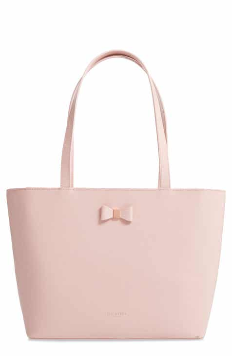 d5b494a9f Ted Baker London Tonal Bow Small Leather Shopper