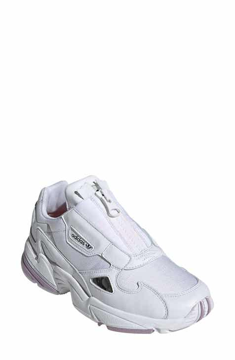 38ac6323 adidas Falcon Zip Sneaker (Women). Sale:$82.90. After Sale:$110.00. Product  Image. WHITE/ ...
