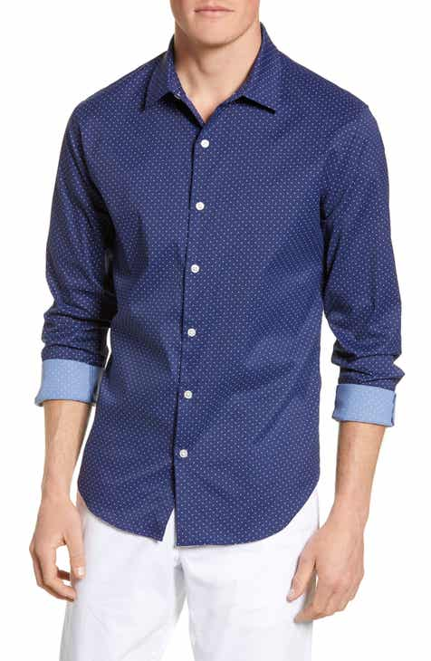 Bonobos Slim Fit Dot Tech Sport Shirt