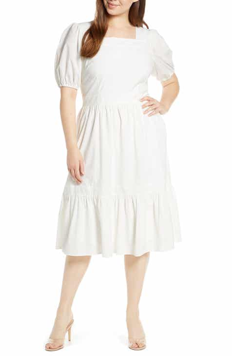 28bdb637a0 Rachel Parcell Puff Sleeve Dress (Nordstrom Exclusive)