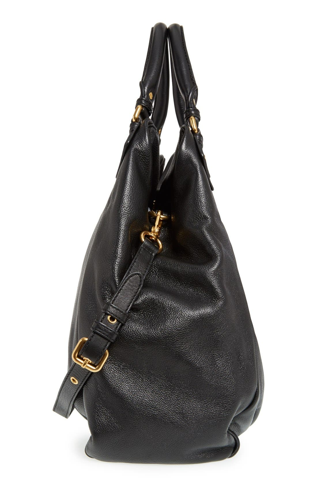 Alternate Image 5  - MARC BY MARC JACOBS 'Classic Q - Francesca' Leather Shopper
