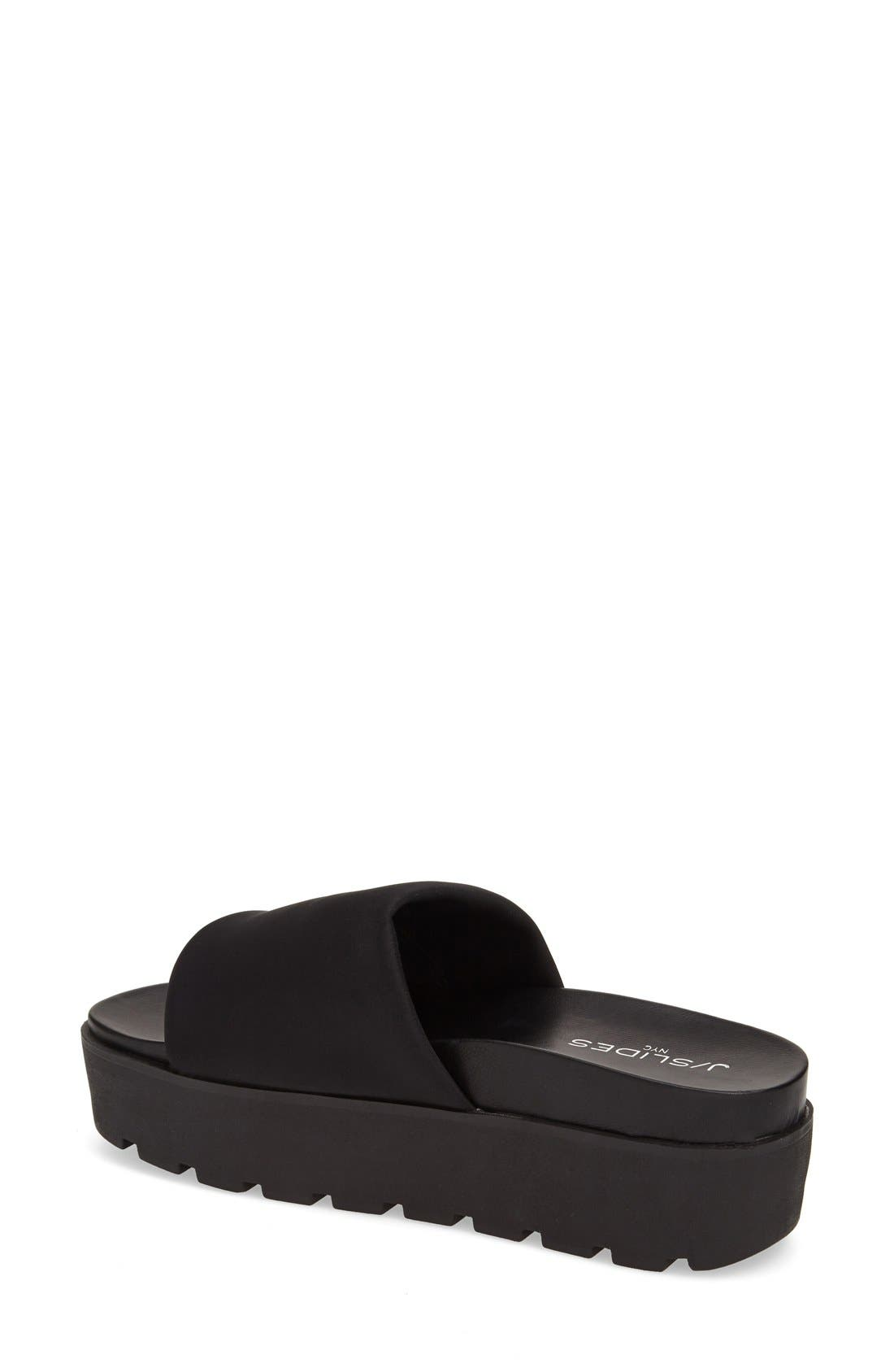 Alternate Image 2  - JSlides 'Telly' Flatform Slide Sandal (Women)