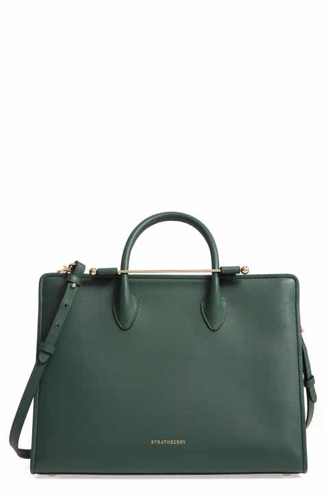 20707891f Strathberry Midi Leather Tote