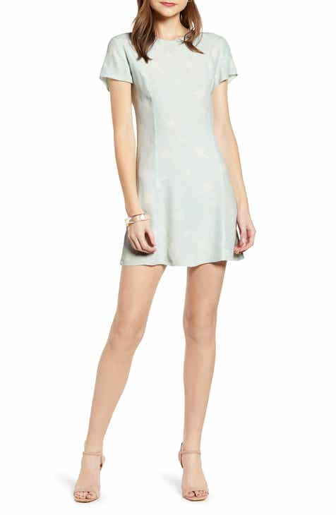 0aecc8785dc Something Navy Easy Flirty Minidress (Nordstrom Exclusive)