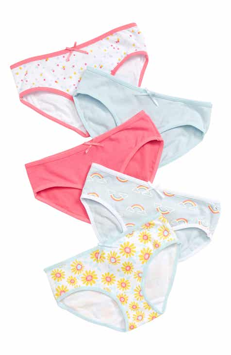 7666d68dc870 Tucker + Tate 5-Pack Hipster Briefs (Toddler Girls, Little Girls & Big  Girls)