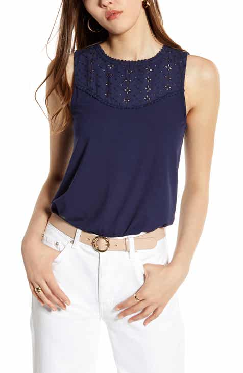 69775bd3fe9023 Women's Lace Tops | Nordstrom
