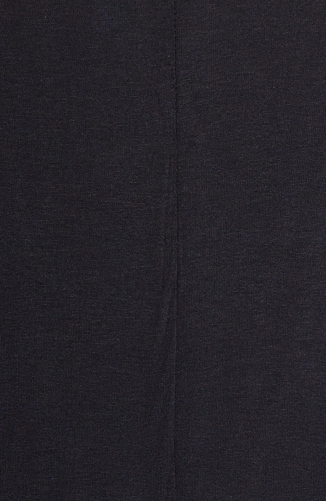 Alternate Image 3  - Becca Etc. Fringe Hem Kimono Sleeve Cover-Up (Plus Size)