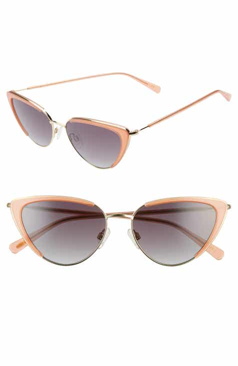 f3b2afd18169 D BLANC x Amuse Society La Luna 57mm Cat Eye Sunglasses