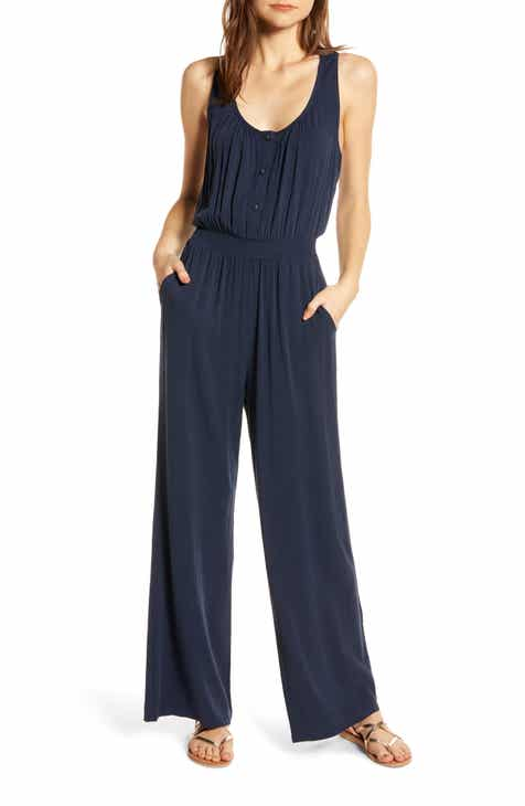 THE ODELLS Wide Leg Jumpsuit