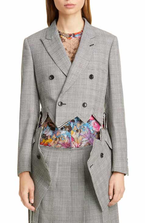 Judith & Charles Milano Stretch Wool Blazer by JUDITH AND CHARLES