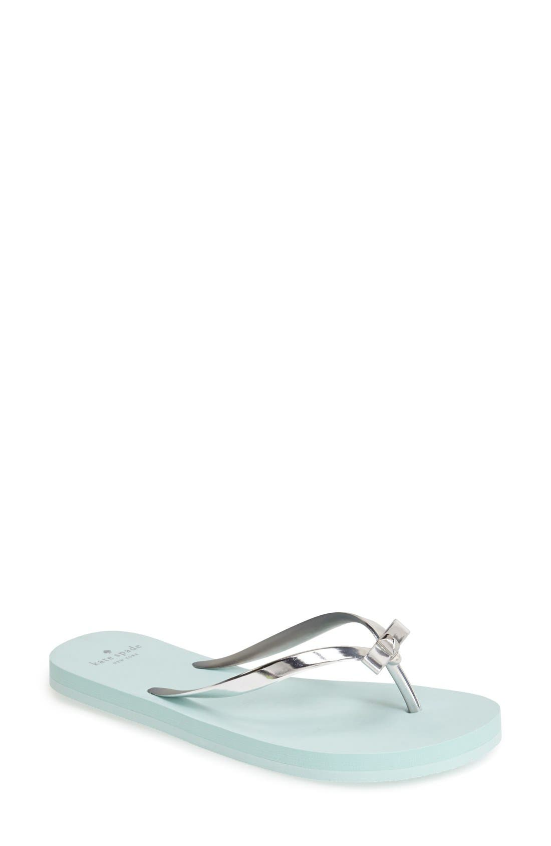 KATE SPADE NEW YORK happily flip flop