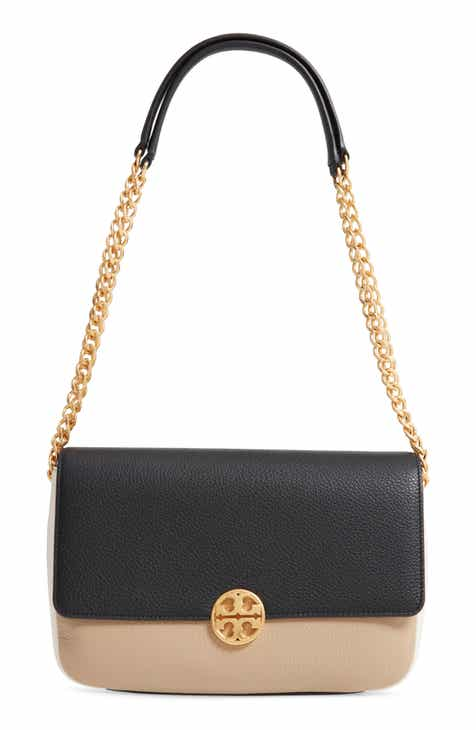 60ce990eac86 Tory Burch Chelsea Colorblock Leather Shoulder Bag