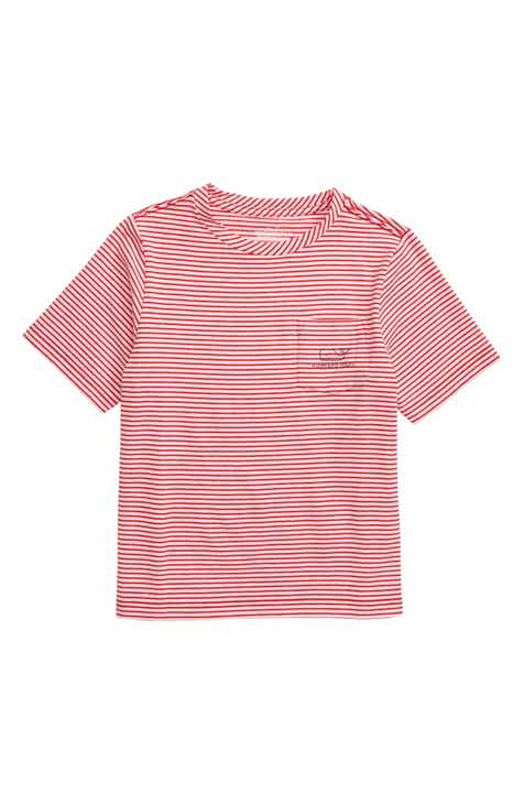 11a539f8e36 vineyard vines Edgartown Stripe T-Shirt (Big Boys)