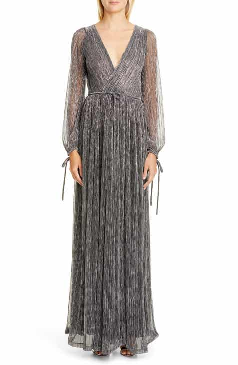 ZAC Zac Posen Cristina Long Sleeve Gown