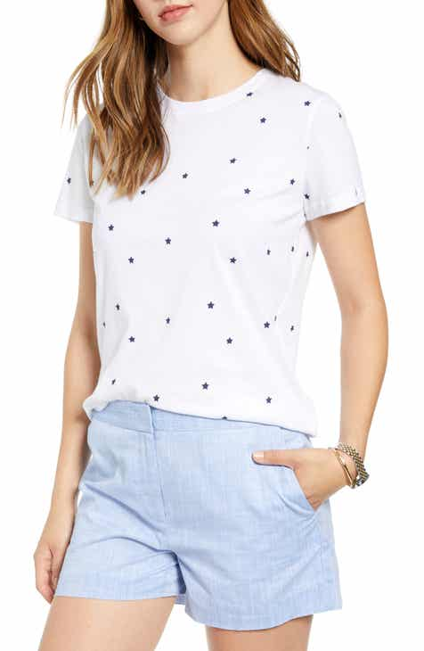 81f0bf63f8 1901 Stars Cotton Blend Tee (Regular & Petite)