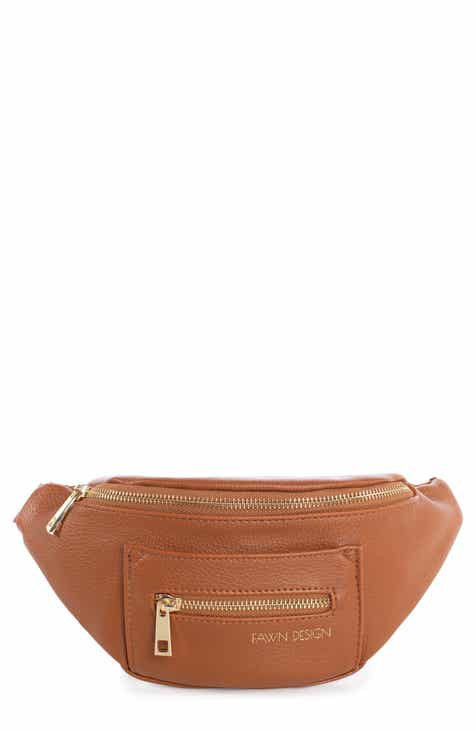 3be9c2ef7ecd FAWN DESIGN The Fawny Faux Leather Belt Bag