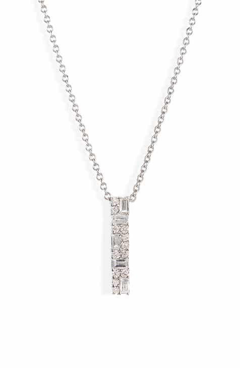 ab2780da8 Bony Levy Gatsby Diamond Bar Pendant Necklace (Nordstrom Exclusive)