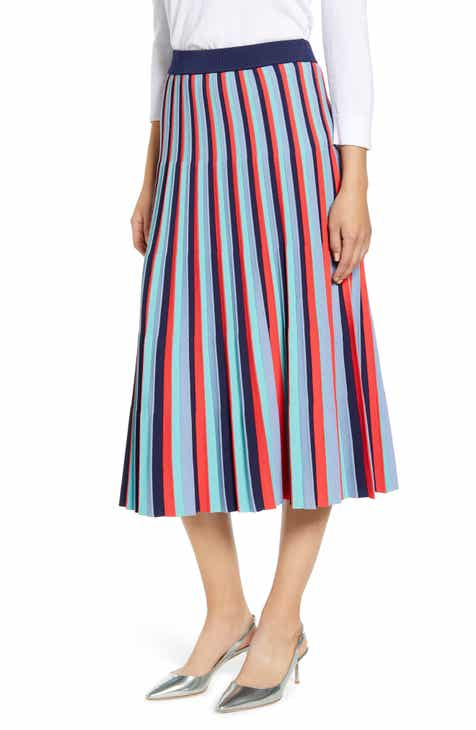 cd52d2440d Halogen® Stripe Knit Skirt (Regular & Petite)