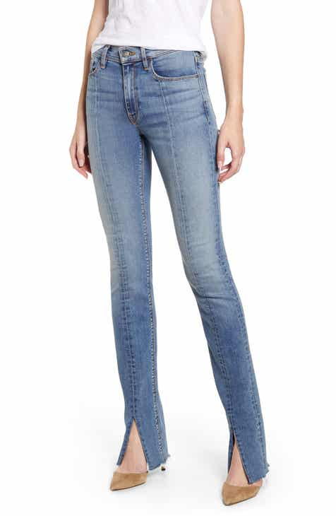 86341498a Hudson Jeans Barbara High Waist Super Skinny Kick Jeans (Clean Provoking)