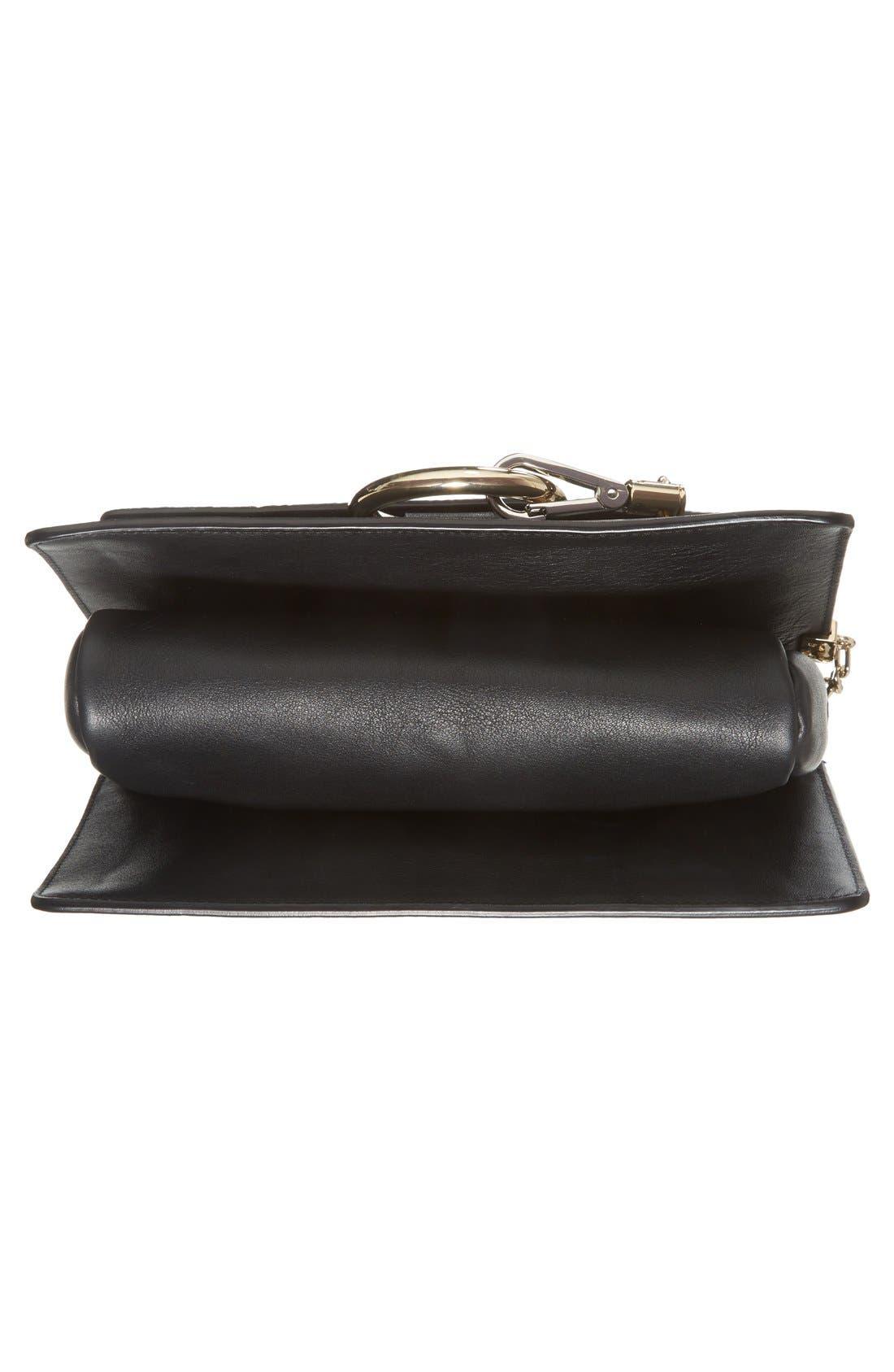 Alternate Image 6  - Chloé 'Small Faye' Genuine Python & Leather Shoulder Bag