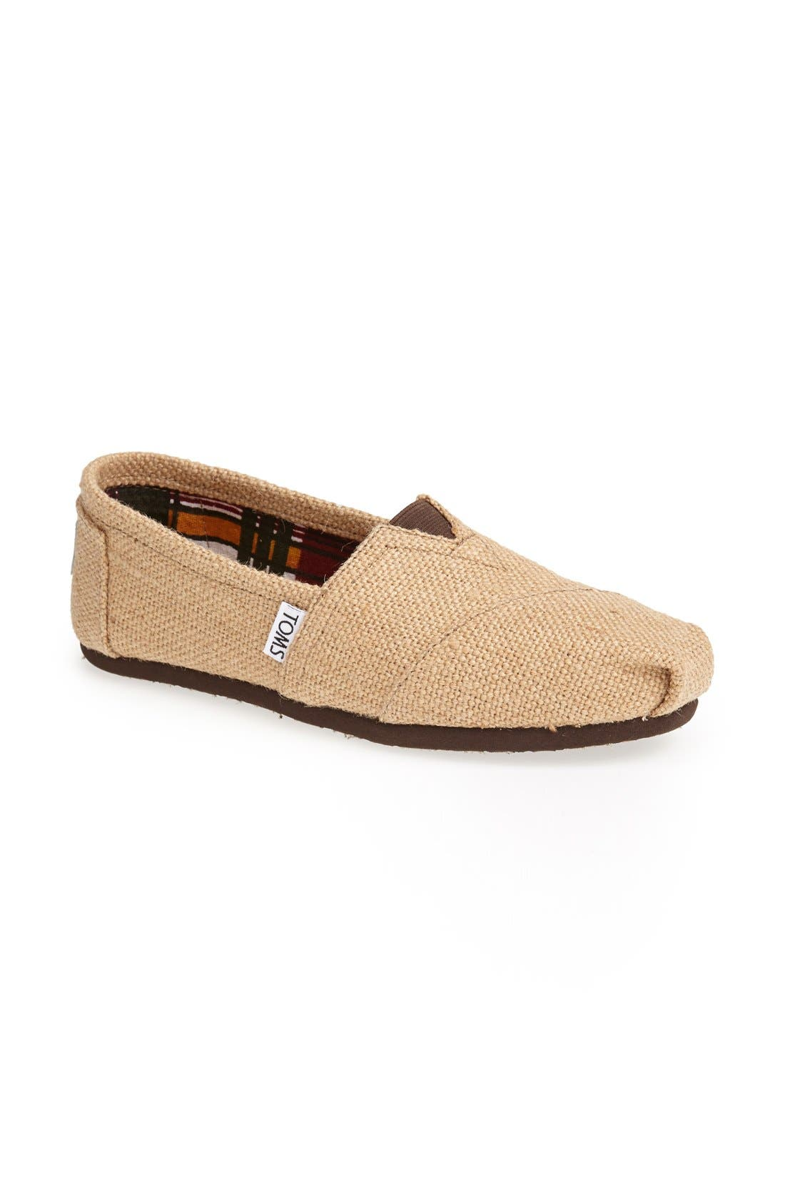 Alternate Image 5  - TOMS Burlap Slip-On (Women)