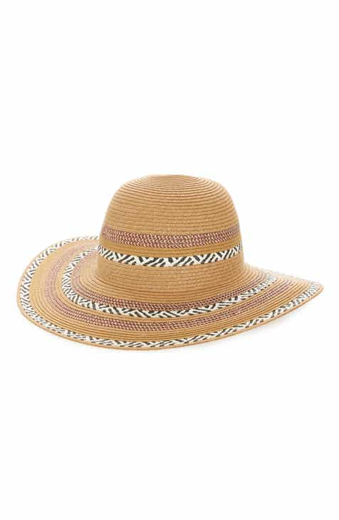 fb5ff5a7 Sole Society Embroidered Floppy Sun Hat