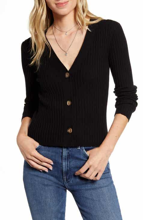 Rails Ribbed Merino Wool & Silk Sweater