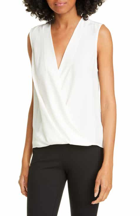 rag & bone Victor Sleeveless Silk Blouse