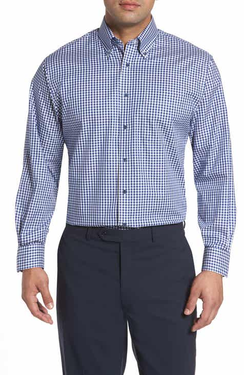 1e30f5dc6c36d Nordstrom Men's Shop Classic Fit Non-Iron Gingham Dress Shirt