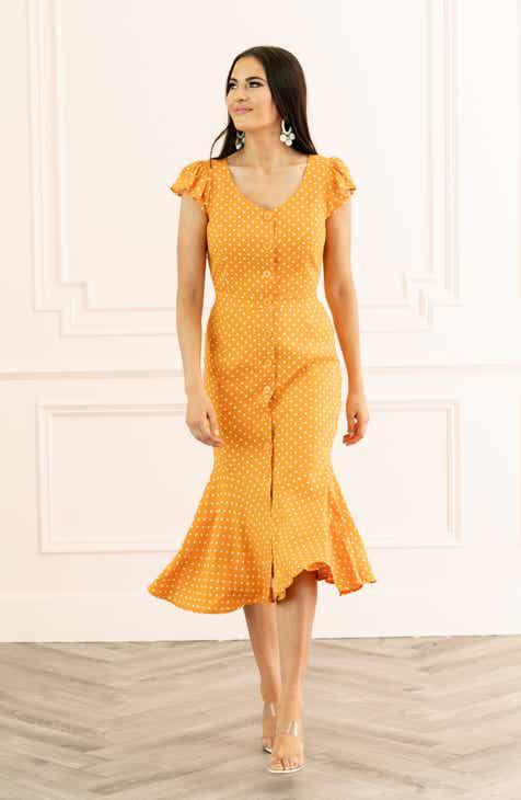1d3655c42 Rachel Parcell Button Down Midi Dress (Nordstrom Exclusive)